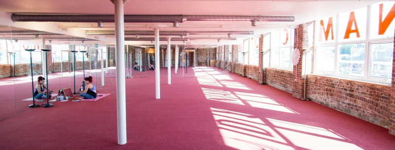 Our Dynamic Hot Yoga studio is the largest in Brighton & Hove