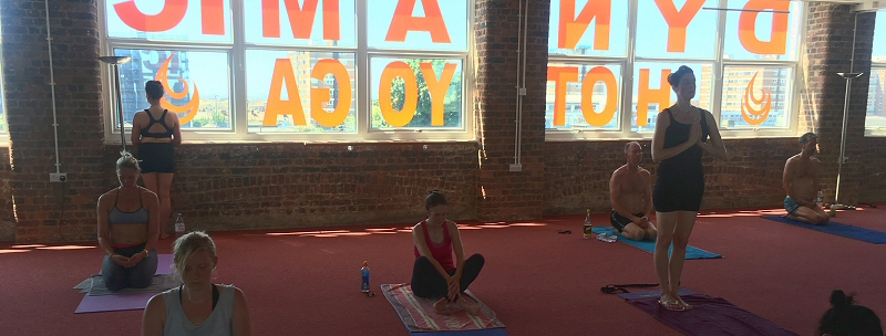 Dynamic Hot Yoga - Studio 1
